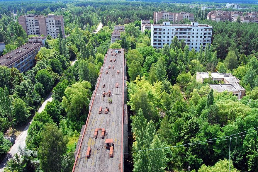 Pripyat is truly an eerie abandoned place.