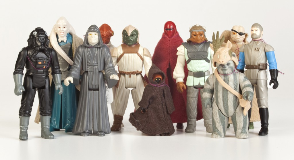 Star Wars figures were one of the best 80s toys ever.