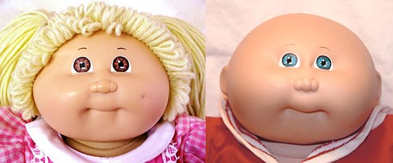 Cabbage Patch Kids were one of the best 80s toys ever.