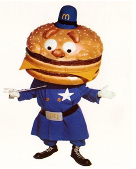 Officer Big Mac is one of the McDonald's characters you have never heard of.
