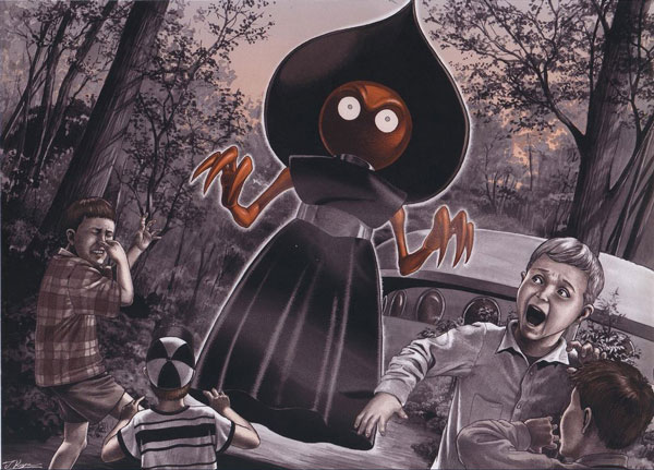 The Flatwoods Monster is one of the mythological creatures that defy description.