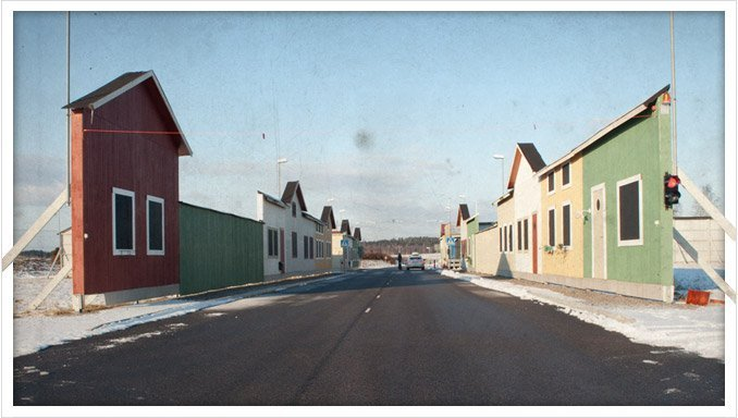 An example of strange towns and communes