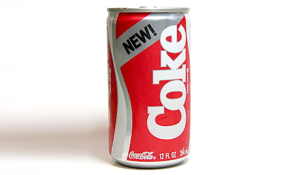 1980s inventions included New Coke
