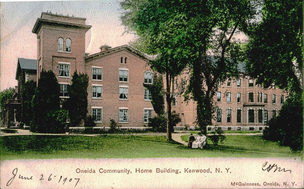 Oneida Community is an example of strange towns and communes