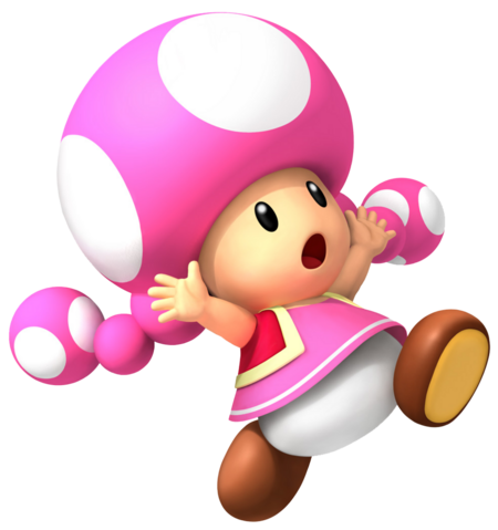 Toadette is a forgettable Nintendo character