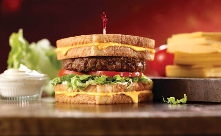 grilled_cheese_burger_friendlys is part of the silly sandwiches club