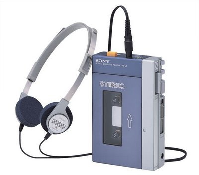 1980s inventions included the Sony Walkman