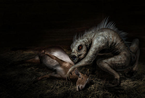 The Chupacabra from South America is one of the world's scary creatures that may actually exist.