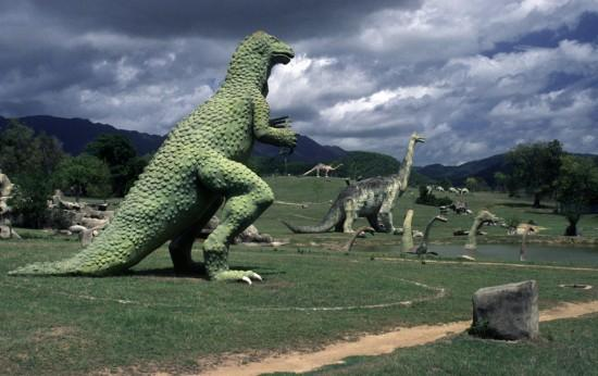 Prehistoric valley is one of the strangest tourist attractions in the world.