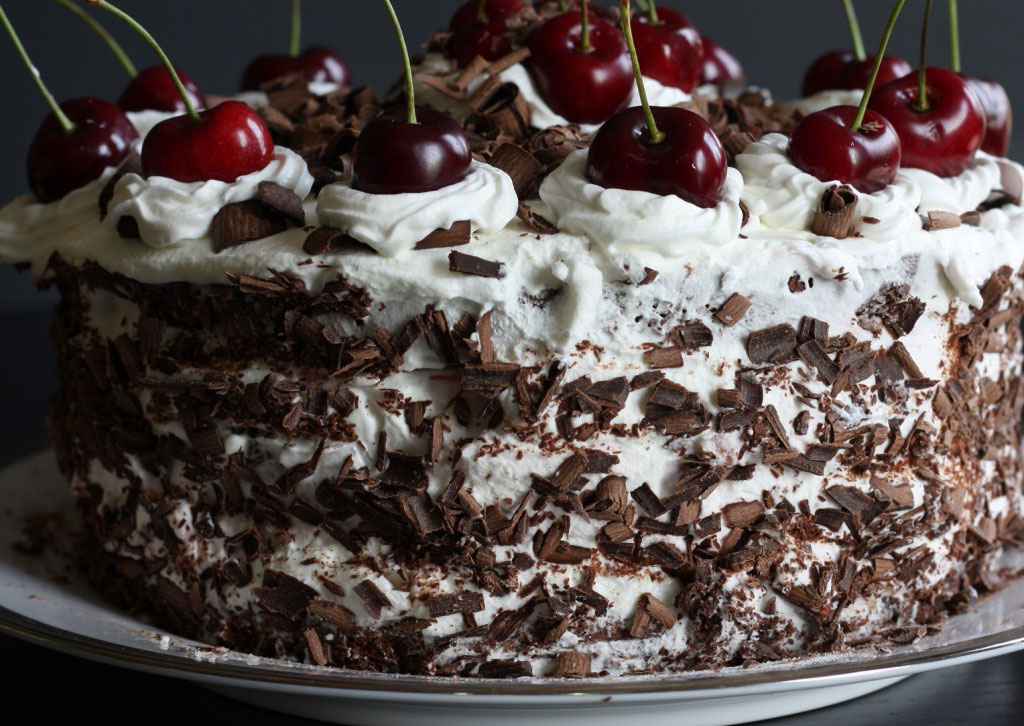 German Black Forest Cake is one of the most delicious desserts from around the world.
