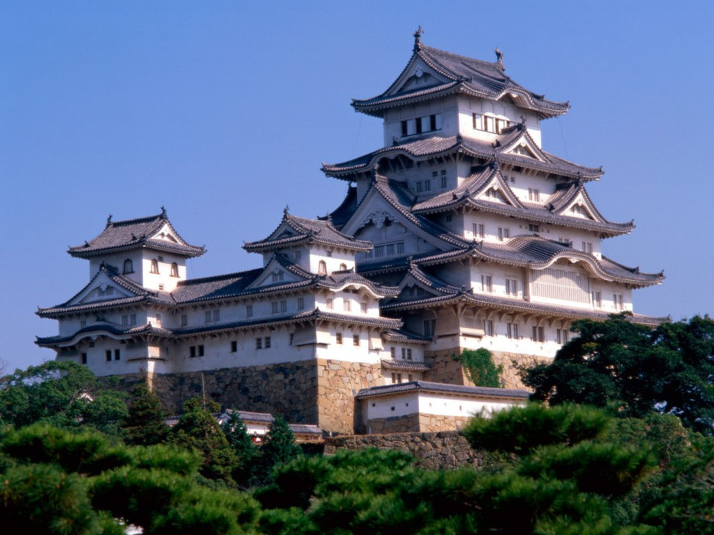 Himeji Castle in Japan is one of the most amazing castles in the world.