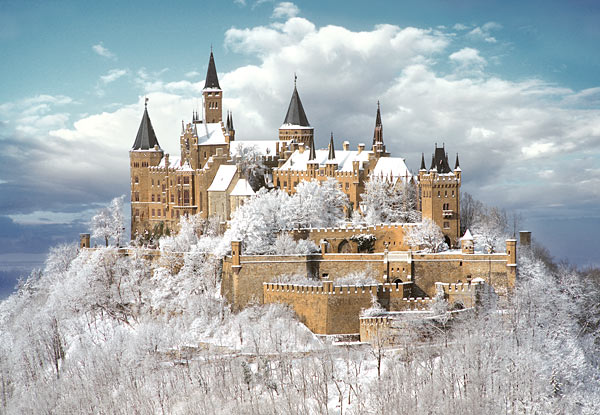 Hohenzollern Castle in Germany is one of the most amazing castles in the world.