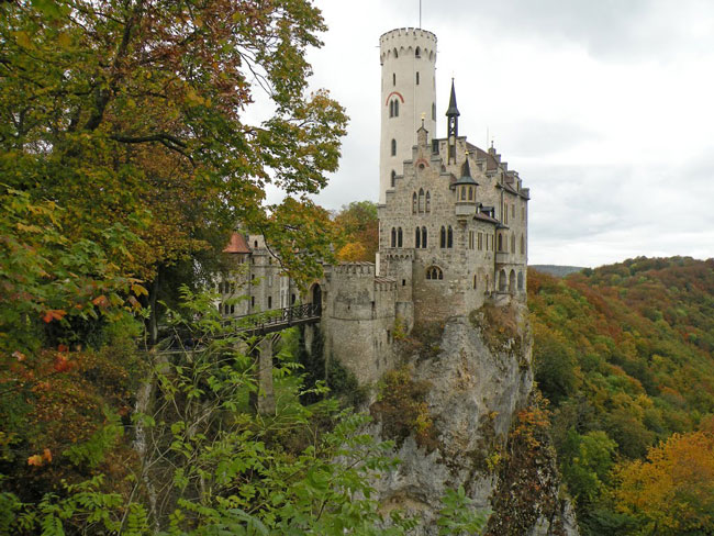Lichtenstein Castle in Germany is one of the most amazing castles in the world.