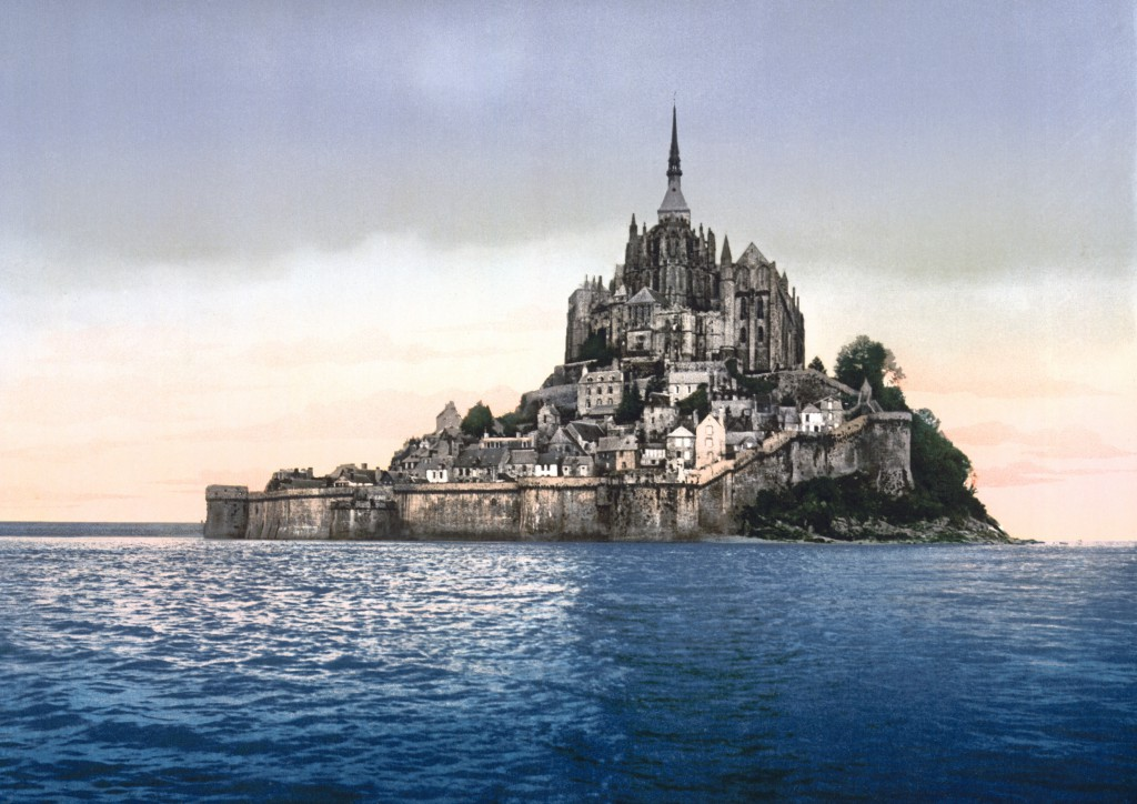 Mont Saint Michel in Normandy is one of the most amazing castles in the world.