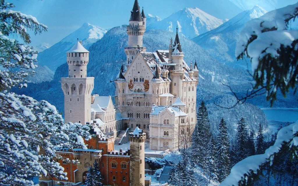 Neuschwanstein Castle in Bavaria is one of the most amazing castles in the world.