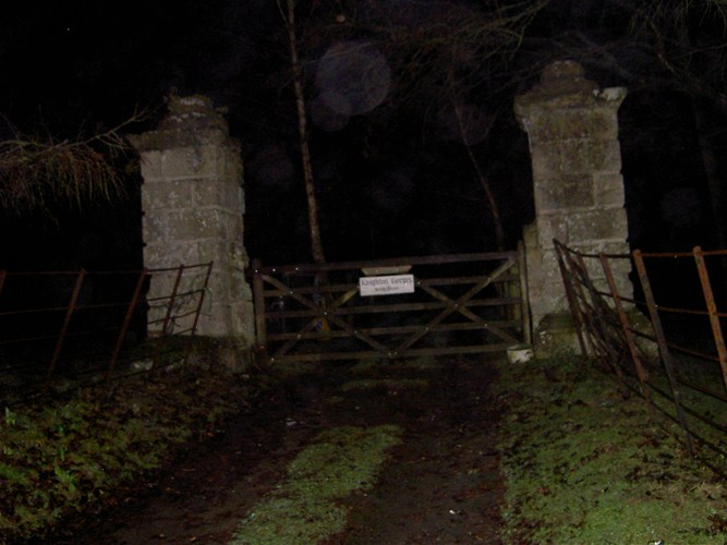 Knighton Gorges Manner is one of Britain's most haunted places