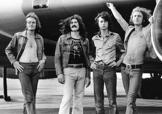 Led Zeppelin are part of some hilarious celebrity rumours.