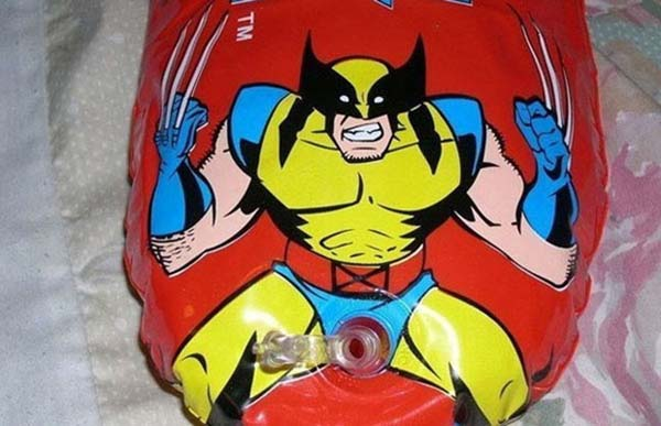 Blow up Wolverine punching bag - 10 Creepiest Toys Ever Created