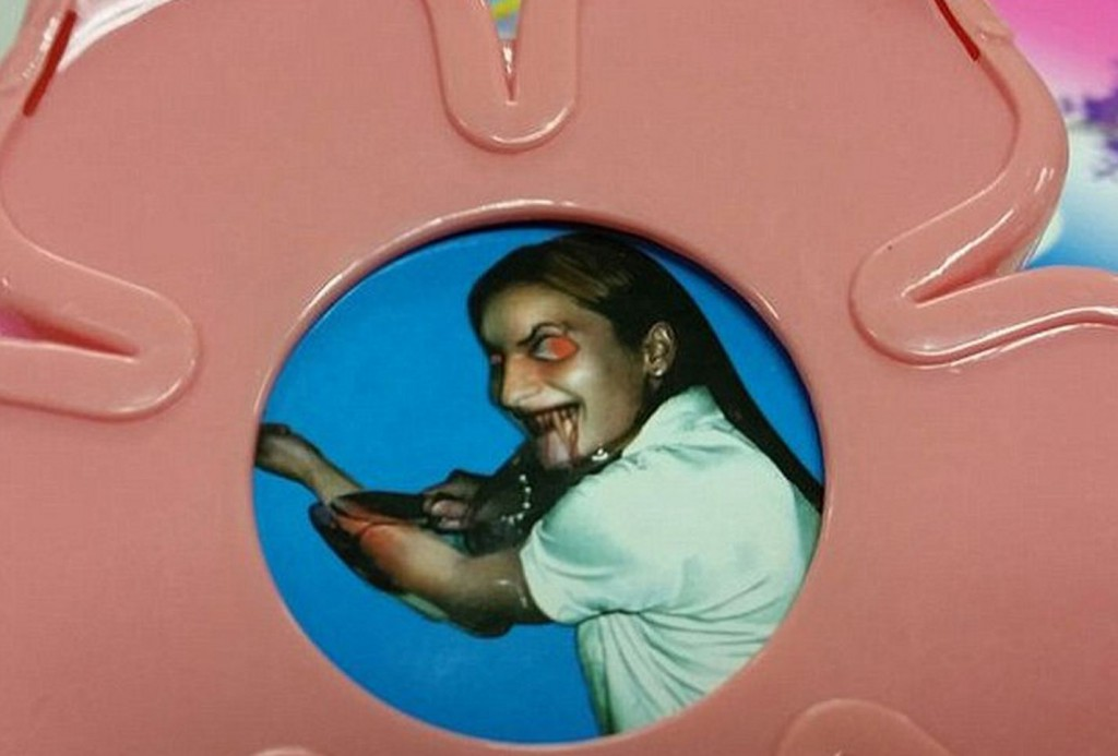 Evil Stick toy with demon girl face - 10 Creepiest Toys Ever Created