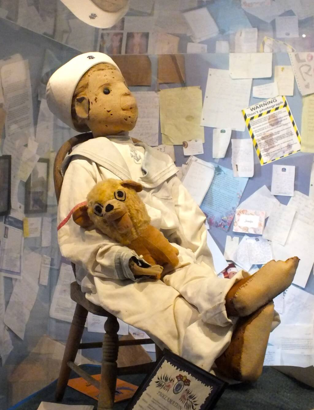 Robert The Doll is a cursed object.