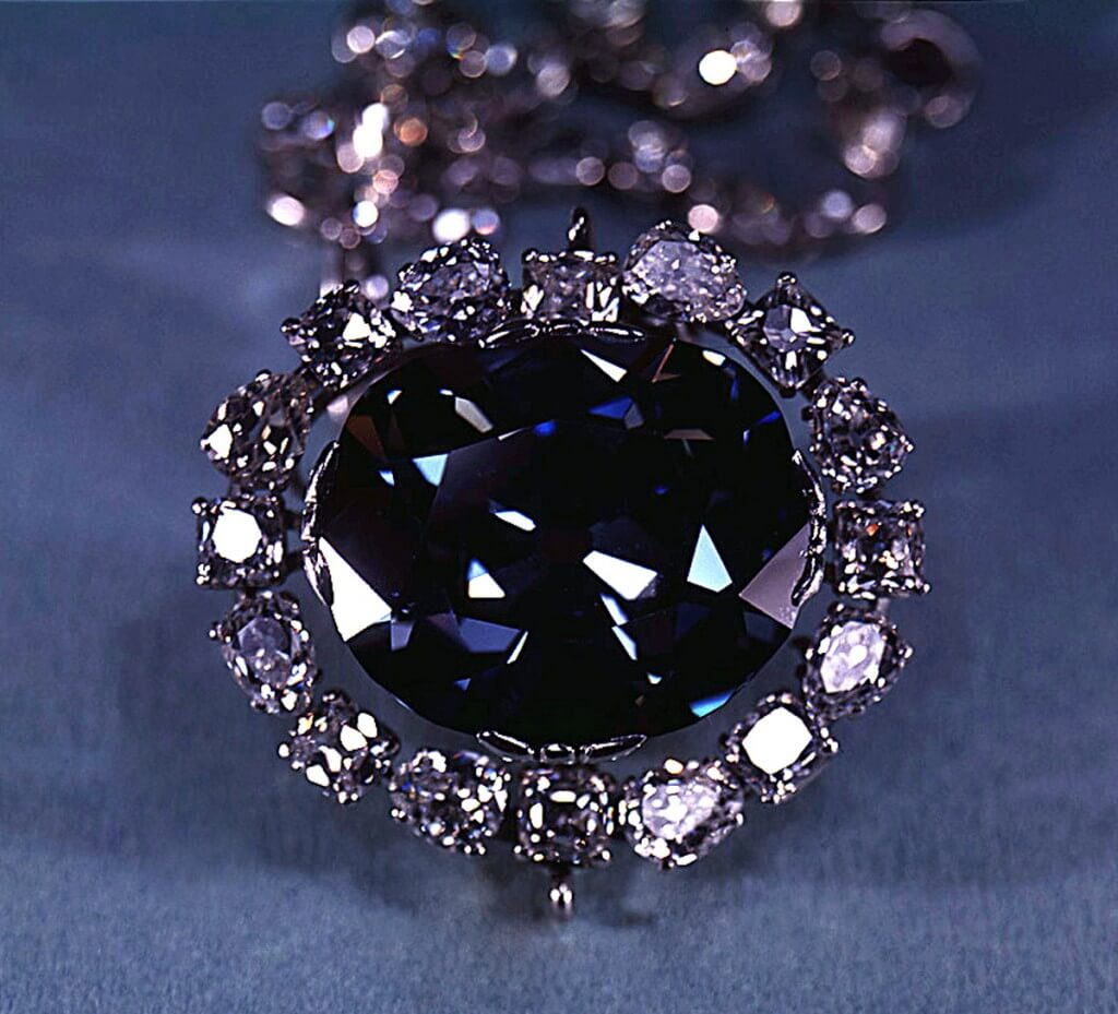 The Hope Diamond is a cursed object.