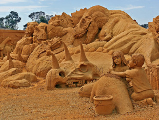 Sand sculpting USA