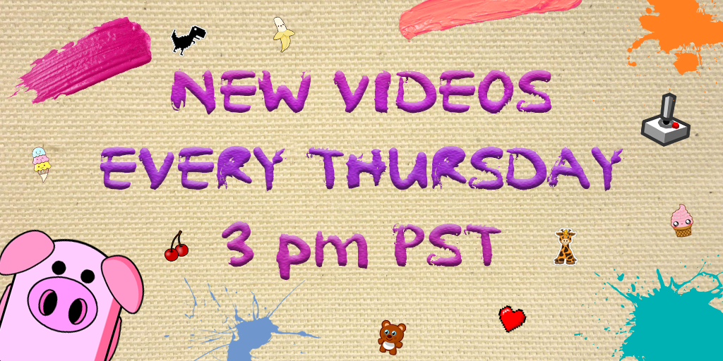New Youtube Video Every Thursday 3 pm PST