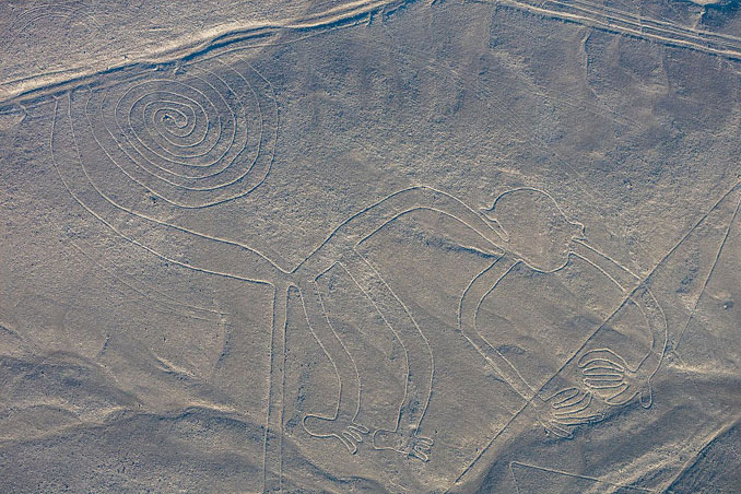 Nazca Lines The Monkey - 10 Unexplainable Mysteries From The Past