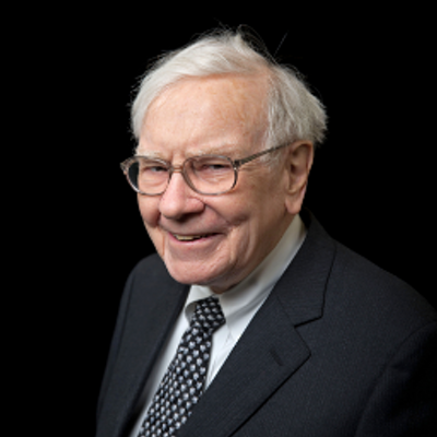Warren Buffet is one of the richest people in the world.