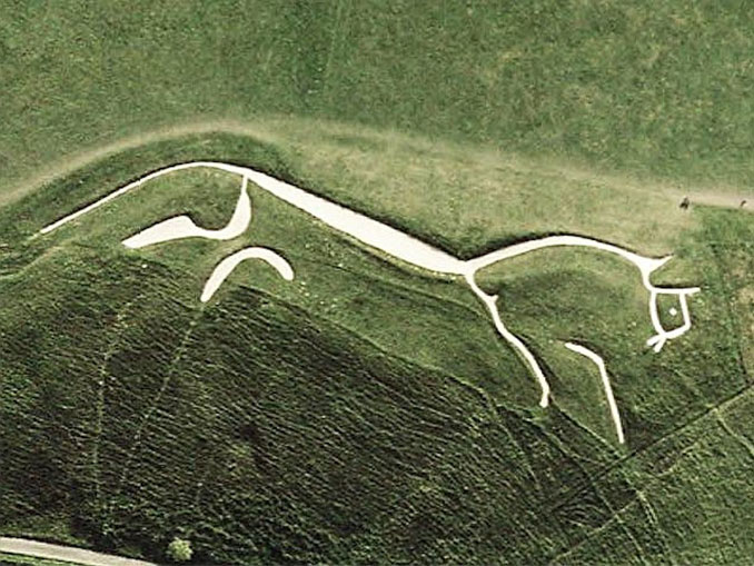 White Horse Of Uffington - 10 Unexplainable Mysteries From The Past