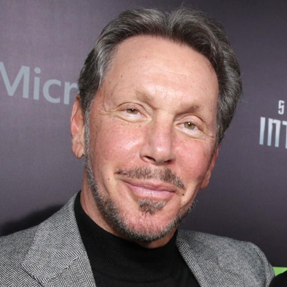 Larry Ellison is one of the richest people in the world.