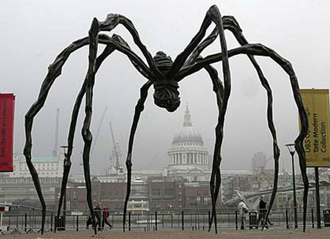 Spider by Louise Bourgeois - 10 Creepiest Statues Ever Created
