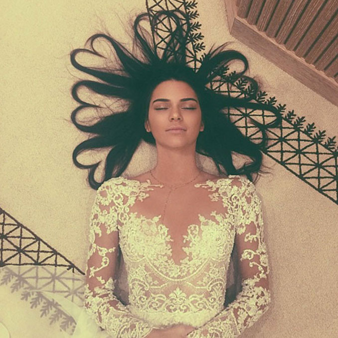 Kendall Jenner's famous Instagram photo - 7 Times People Broke The Internet