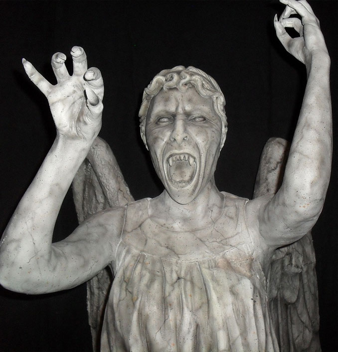 Weeping Angel - 10 Creepiest Statues Ever Created