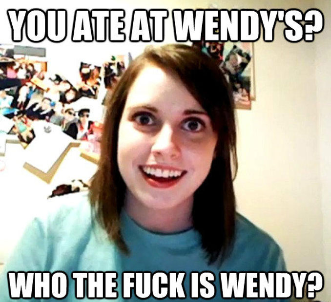 Overly Attached Girlfriend Meme - 10 REAL People Behind Popular Internet Memes
