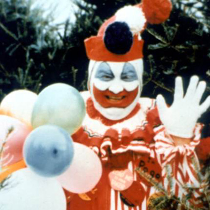 John Wayne Gacy as Pogo the Clown - 10 REAL Photos With Unsettling Backstories