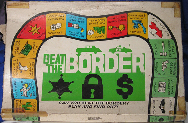 This offensive board game is about drug trafficking - beat the board board game