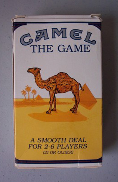 This weird board game was produced by Camel Cigarettes.