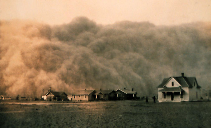 The Black Sunday dust storm - 20 Shocking Weather Facts You Probably Don't Know