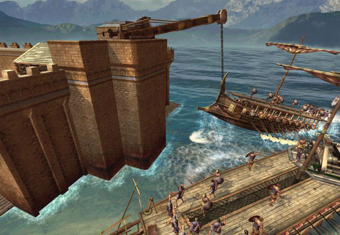 The Claw Of Archimedes - 10 Strangest Weapons Ever Invented