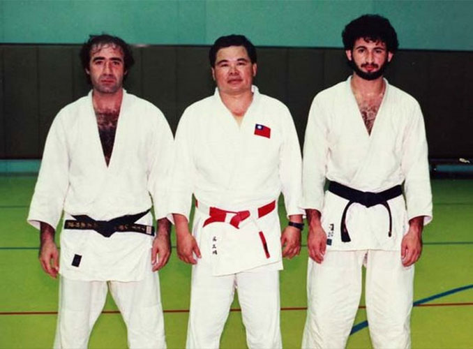 Osama bin Laden during a judo lesson - 10 REAL Photos That Are Hiding A Dark Secret