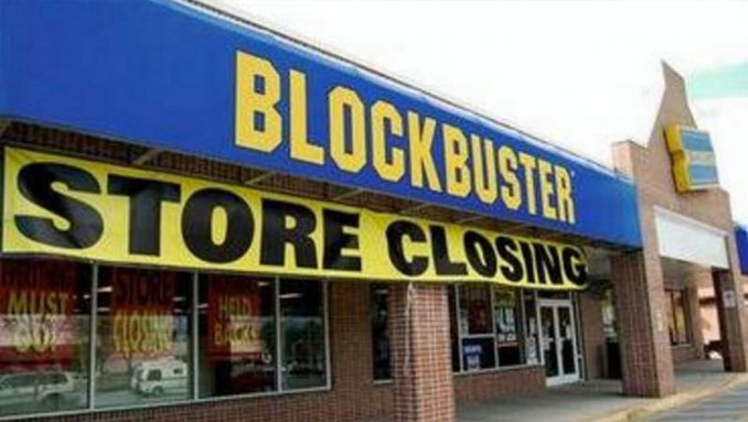 Blockbuster store closing down after Netflix steal the market - 10 Worst Business Decisions Ever Made