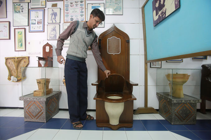 Sulabh International Toilet Museum.