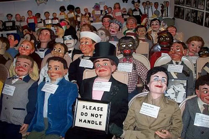 The Vent Haven Ventriloquist Museum.