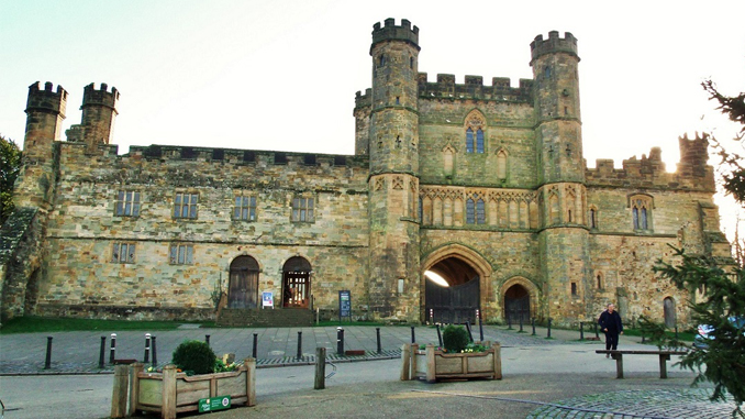 Battle Abbey is one of the most haunted battlefields on earth.
