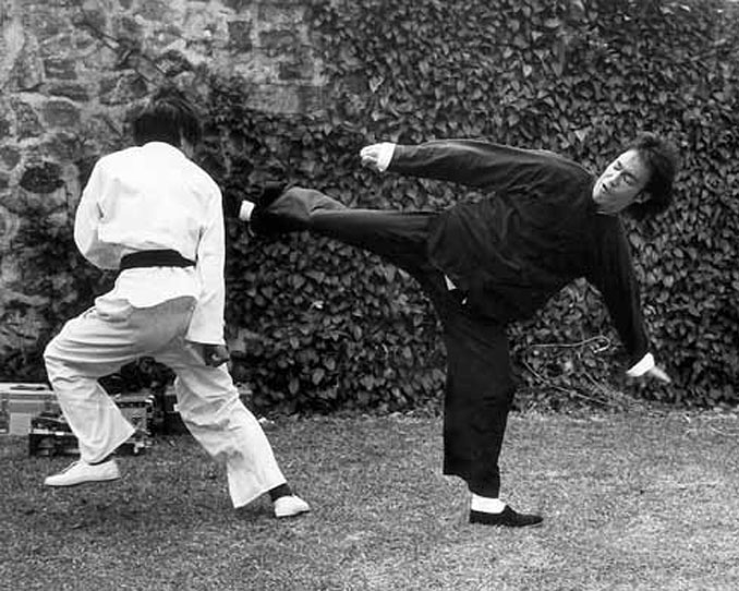 Bruce Lee in a real fight.