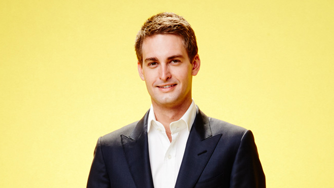 Evan Spiegel is a very young billionaire.