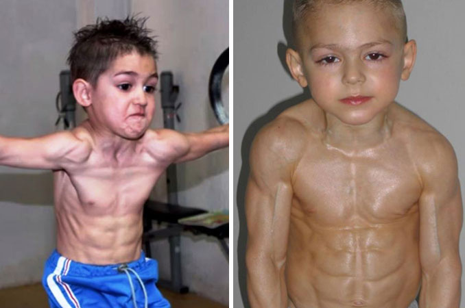 Giuliano and Claudio Stroe are brothers with ripped bodies.