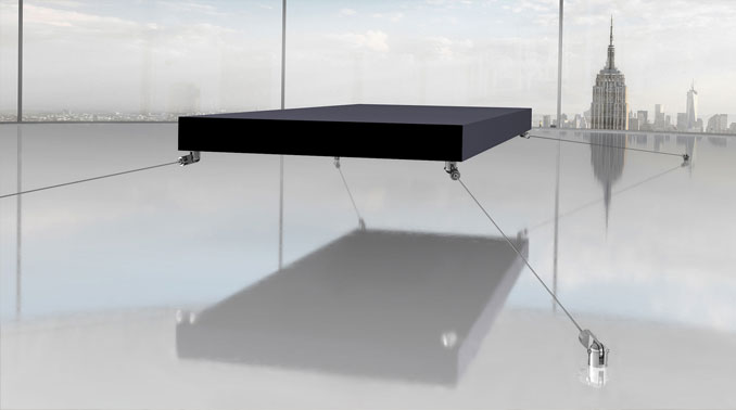 The Magnetic Floating Bed.