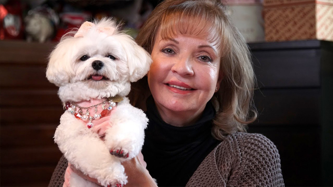 Rose Ann Bolasny left large sums of money for her pet dog.